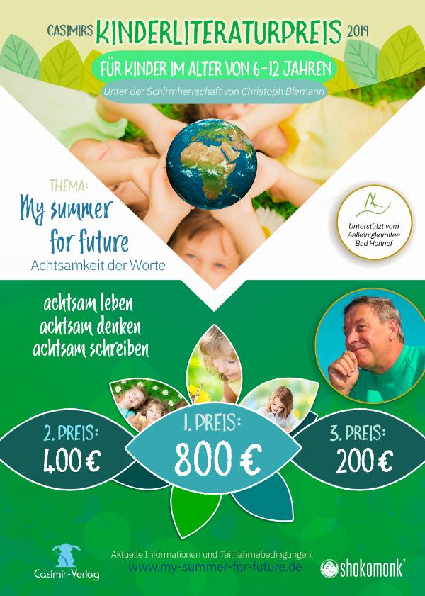 Flyer Kinderliteraturpreis 2019